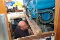 Oil Pump Replacement in Boat